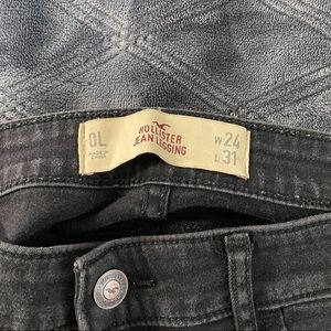 Hollister high wasted jean jogger